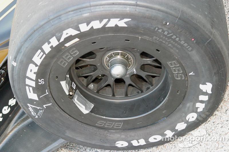 Détail du pneu