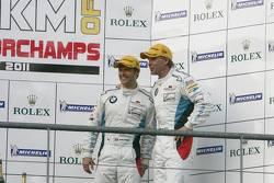 LMGTE pro podium: third place Andy Priaulx and Uwe Alzen