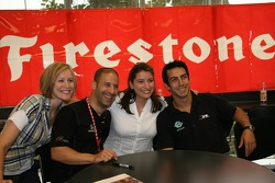 Firestone Corporate Employee Function: Tony Kanaan and Jeff Simmons