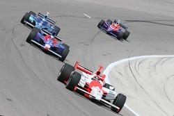 Helio Castroneves, Marco Andretti, Scott Dixon and Kosuke Matsuura