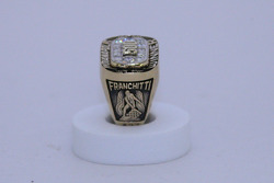 Dario Franchitti's Champion of Champions winner's ring for winning the 2007 Indianapolis 500