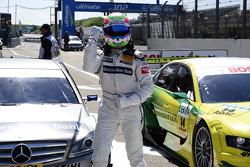 Polesitter Bruno Spengler, Team HWA AMG Mercedes, AMG Mercedes C-Klasse