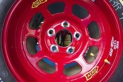 Through the wheels