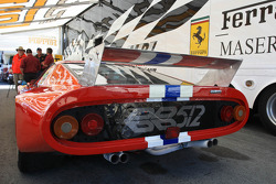 Historic Ferrari F1 race cars