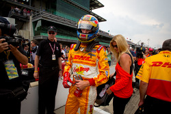 Ryan Hunter-Reay, Andretti Autosport, disappointed after his qualifying run
