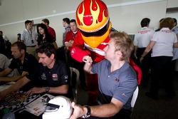 Jay Howard, Sam Schmidt - RLL Racing
