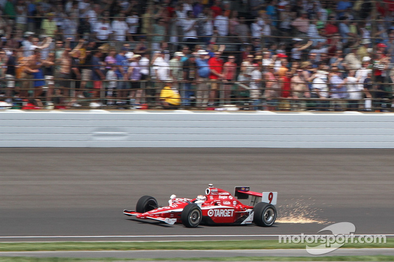 Scott Dixon, Target Chip Ganassi Racing at the start