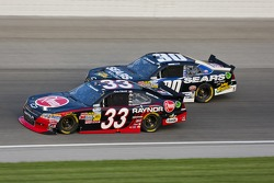 Kevin Harvick, Kevin Harvick Inc. Chevrolet and Mikey Kile, Turner Motorsports Chevrolet