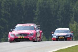 Susie Stoddart, Persson Motorsport, AMG Mercedes C-Klasse, Mattias Ekström, Audi Sport Team Abt Sportsline Audi A4 DTM