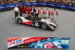 #39 Pecom Racing Lola B11/40-Judd BMW: Luis Perez Companc, Mathias Russo, Pierre Kaffer