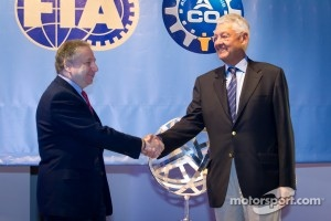 ACO press conference: FIA President Jean Todt and ACO President Jean-Claude Plassart