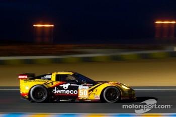 #50 Larbre Competition Chevrolet Corvette C6 ZR1: Patrick Bornhauser, Julien Canal, Gabriele Gardel