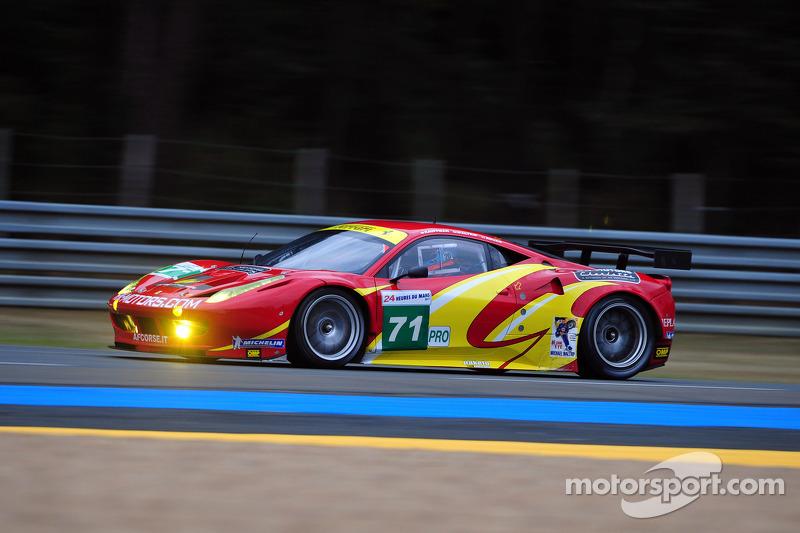 #71 AF Corse Ferrari 458 Italia: Robert Kauffman, Michael Waltrip, Rui Aguas