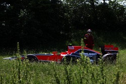 Car of Jerome d'Ambrosio, Marussia Virgin Racing