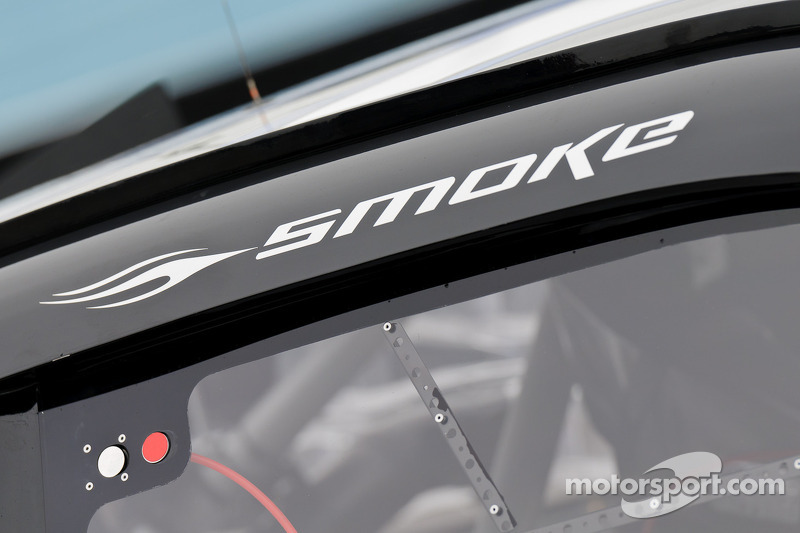 Detail of Tony Stewart's Sprint Cup car
