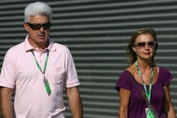 Father and mother of Fernando Alonso