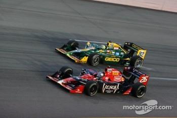 Marco Andretti, Andretti Autosport and Tony Kanaan, KV Racing Technology-Lotus