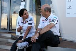 Monisha Kaltenborn, Managing director, Sauber F1 Team, Peter Sauber, Sauber F1 Team, Team Principal