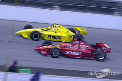 Jimmy Vasser and Sam Hornish Jr.