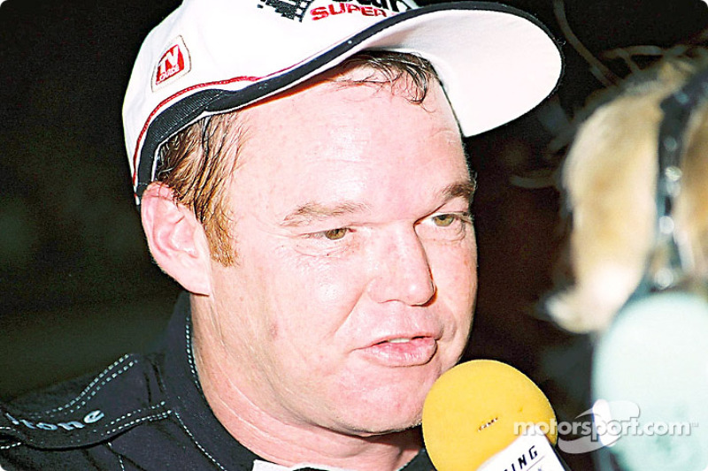 Al Unser Jr. after the race