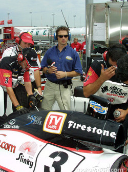 Jason Priestly and Galles Racing Starz SuperPak Crew
