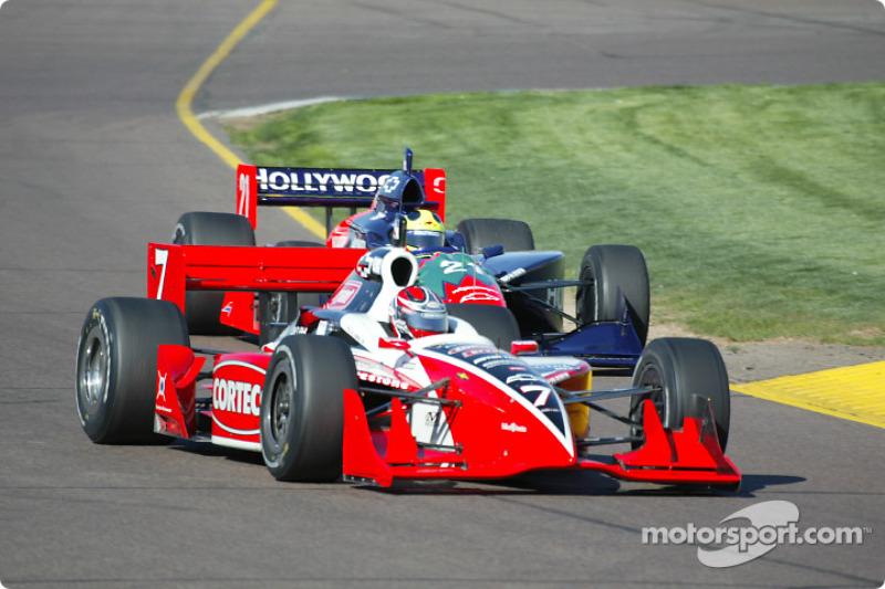 Al Unser Jr. et Felipe Giaffone