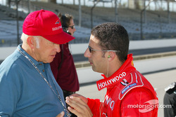 Mo Nunn and Tony Kanaan