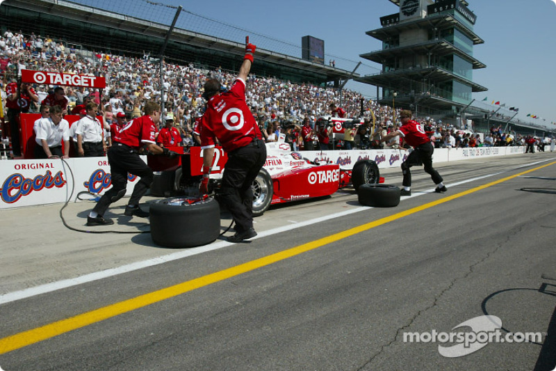 Pitstop competition: Kenny Brack