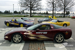The Corvette Pace Cars at Indy