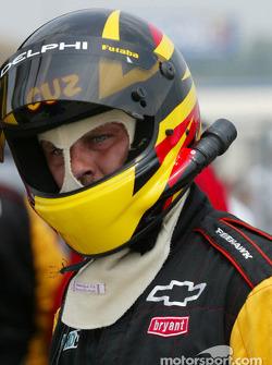 Kelley Racing crew member