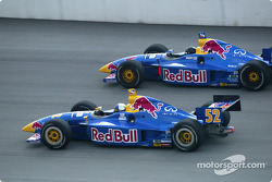 Buddy Rice and Eddie Cheever
