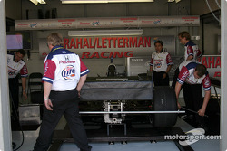 Team Rahal garage area