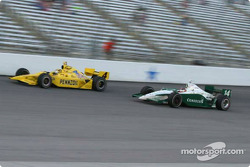 Sam Hornish Jr. and A.J. Foyt IV