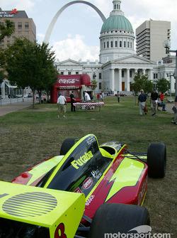 Kelley Racing car on display in St. Louis