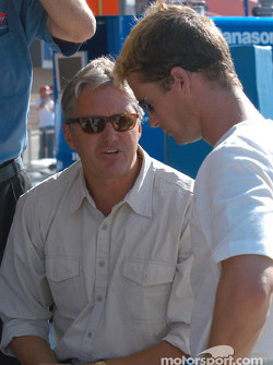 Eddie Cheever and Alex Barron