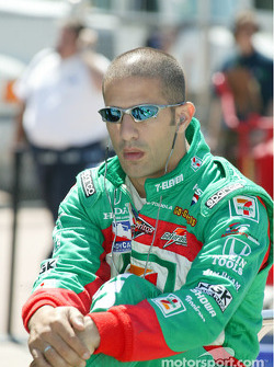 Tony Kanaan, driver of the #11 7-11 Andretti Green Racing