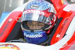Roger Yasukawa, driver of the #5 Super Aguri Fernandez