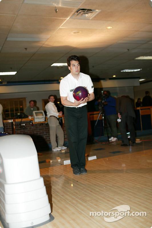 Sam Hornish Jr. au PBA Pro-Am à Indianapolis