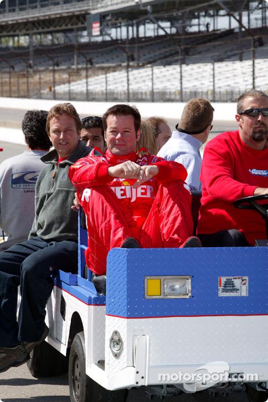 La Dallara Chevrolet de Robby Gordon
