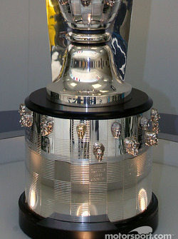 Borg-Warner Trophy with new, expanded base