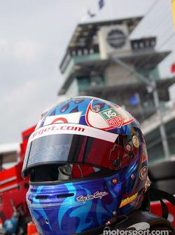 Scott Dixon's helmet