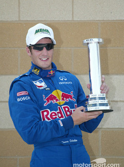 Pole winner Tomas Scheckter