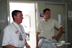 Le triple vainqueur de l'Indy 500 Johnny Rutherford