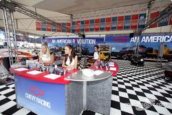 Chevrolet display