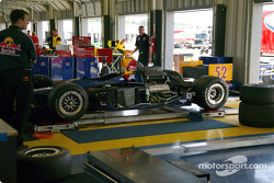 Cheever Racing garage area