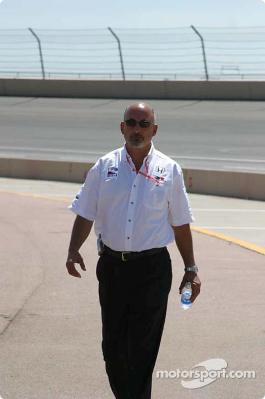 L'ancien vainqueur des 500 miles d'Indianapolis Bobby Rahal