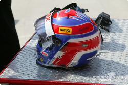 Helmet of Tomas Enge