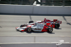 Sam Hornish Jr. and Dan Wheldon