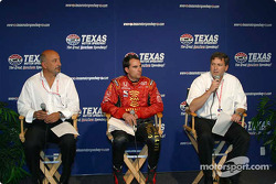 Stars of karting press conference: Bobby Rahal and Bryan Herta