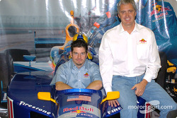 Patrick Carpentier and Eddie Cheever